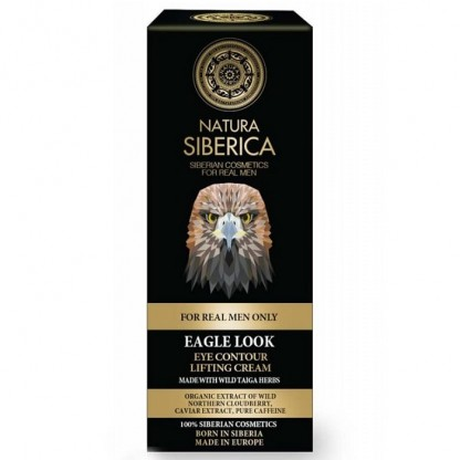 Crema ochi lifting pentru barbati cu plante siberiene si cafeina Eagle Look 30ml Natura Siberica