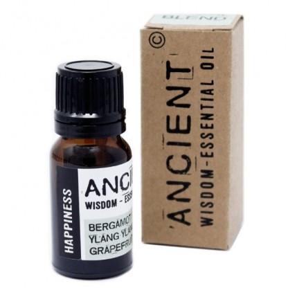 Amestec de uleiuri esentiale Happiness (bergamot, ylang ylang, grapefruit) 10ml Ancient Wisdom Premium
