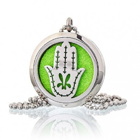 Colier aromaterapie Hand of Fatima 30mm Ancient Wisdom