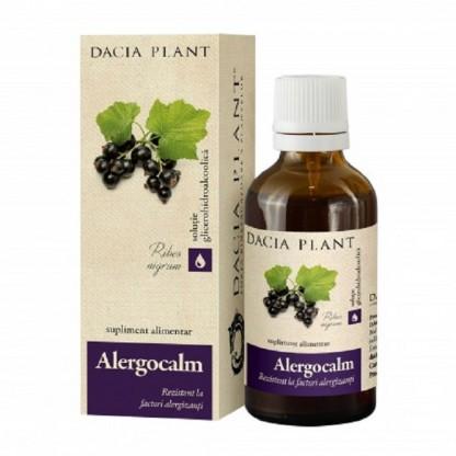 Alergocalm tinctura (supliment anti-alergie) 50ml Dacia Plant