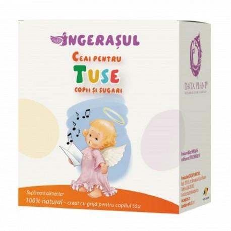 Ceai pentru tuse copii si sugari Ingeras 50g Dacia Plant