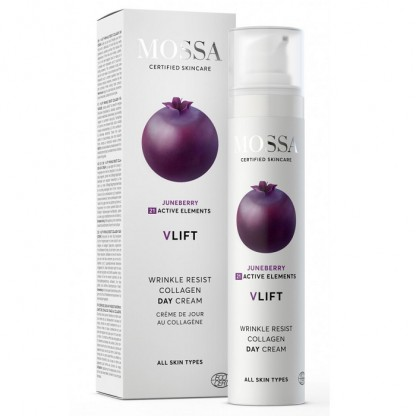 Crema de zi cu colagen V Lift Wrinkle Resist 50ml Mossa Organic