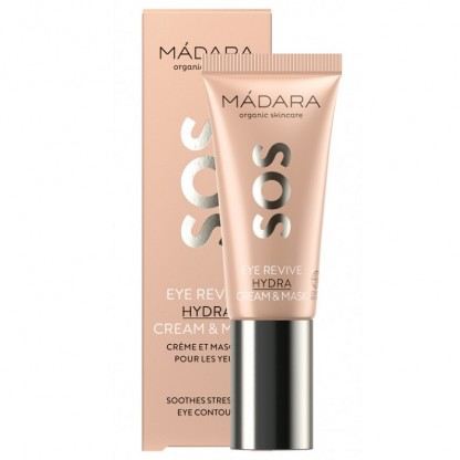 SOS HYDRA Eye Revive Crema si masca pt ochi 20ml Madara