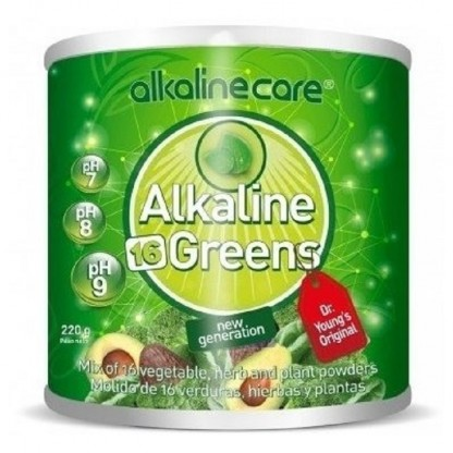Alkaline 16 Greens 220g Alkaline Care