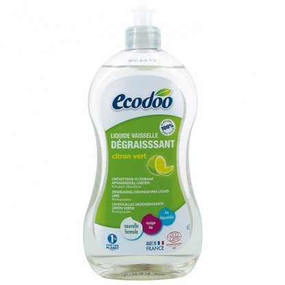 Detergent BIO vase ultradegresant cu otet si limeta 500ml Ecodoo