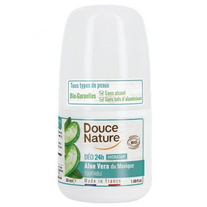Deo roll on hidratant cu aloe vera 50 ml Douce Nature