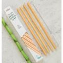 Pai din bambus pentru baut, set 4 bucati Nordics