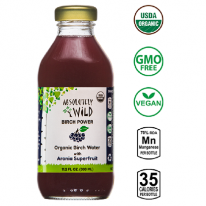 Seva de mesteacan cu Aronia BIO 330ml Absolutely Wild
