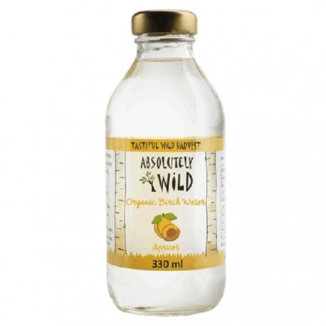 Seva de mesteacan nefiltrata BIO cu aroma de caise 330ml Absolutely Wild