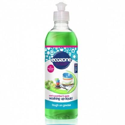 Solutie concentrata pt spalat vase cu castravete si mar 500 ml Ecozone