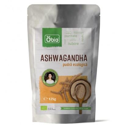 Ashwagandha pulbere BO 125g Obio