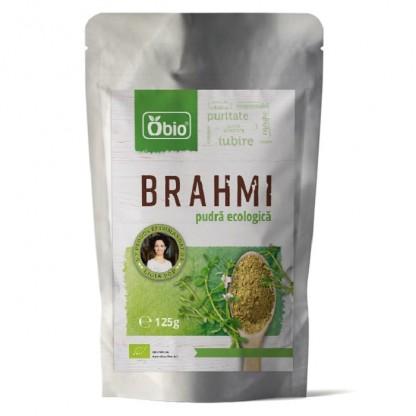 Brahmi pulbere BIO 125g Obio