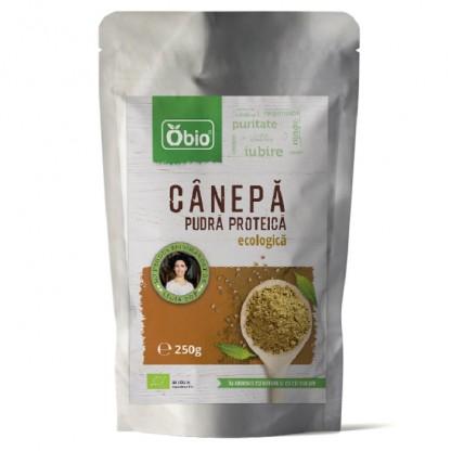 Canepa pudra proteica Raw BIO 250g Obio