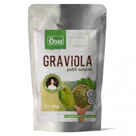 Graviola pulbere raw 125g Obio