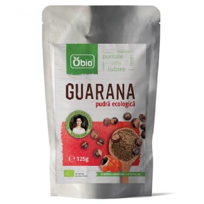 Guarana pulbere Raw BIO 125g Obio