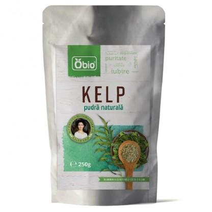 Kelp pulbere raw 250g Obio