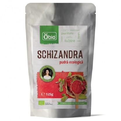 Schizandra pulbere Raw BIO 125g Obio