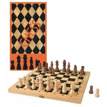 Sah de lemn Egmont Toys