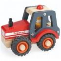 Tractor din lemn, 1-6 ani Egmont Toys