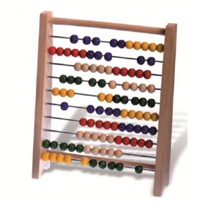 Abacus (socotitoare cu bile din lemn), 3-9 ani Egmont Toys