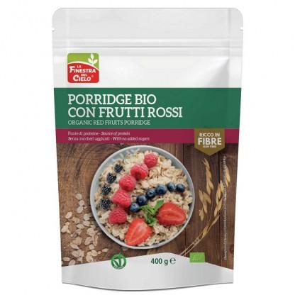 Porridge cu fructe rosii BIO vegan 400g Finestra sul Cielo