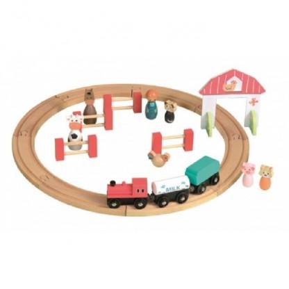 Circuit Tren si Figurine, 3-6 ani, Egmont
