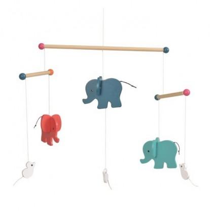 Elefanti - Decoratie mobila din lemn, Egmont
