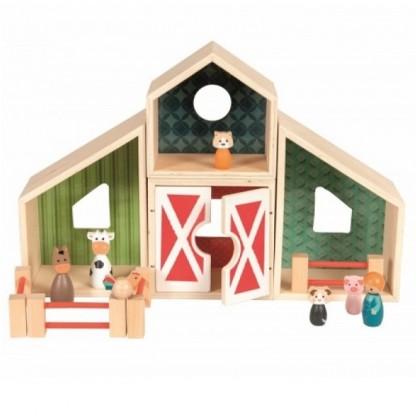 Ferma modular cu accesorii si figurine, Egmont