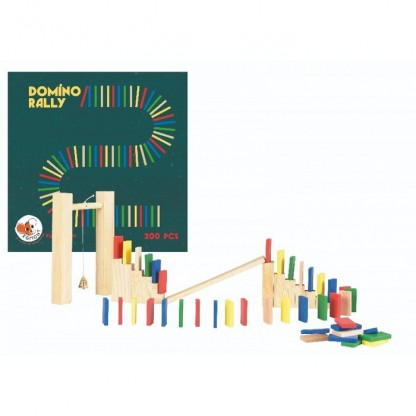Joc Domino 200 piese lemn, Egmont