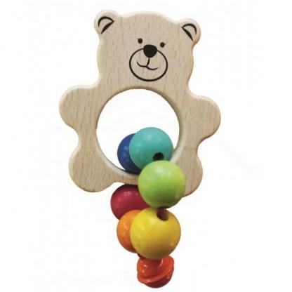 Jucarie bebe Egmont, Ursulet cu clopotel