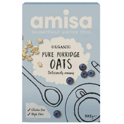 Porridge din ovaz fara gluten BIO 325g Amisa