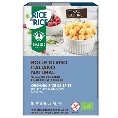 Bilute de orez, fara zahar, fara gluten 150g Probios