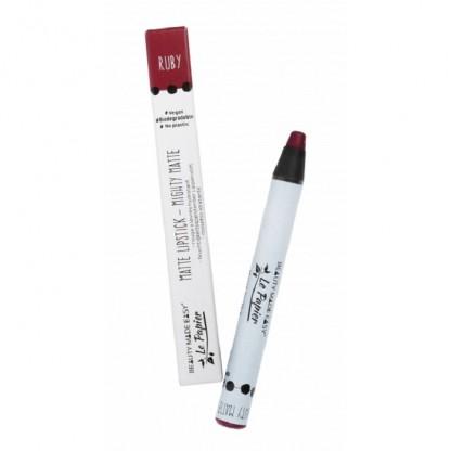 Creion Ruj hidratant mat Ruby (zero plastic) 6g Beauty Made Easy