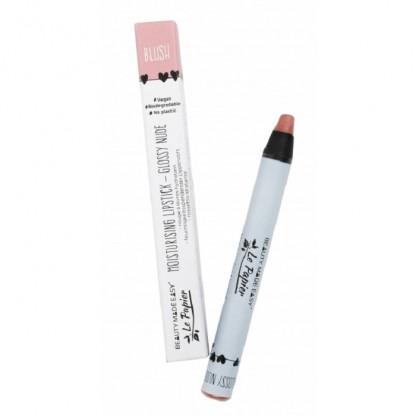 Creion Ruj hidratant mat Glossy Nude Blush (zero plastic) 6g Beauty Made Easy