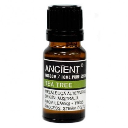 Ulei esential de Tea Tree (Melaleuca Alternifolia) 10ml Ancient Wisdom