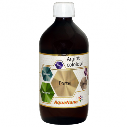 Argint Coloidal Forte 30ppm 480ml AquaNano