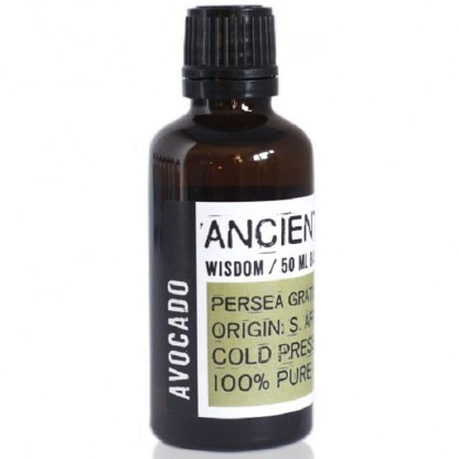 Ulei de avocado presat la rece 50ml Ancient Wisdom