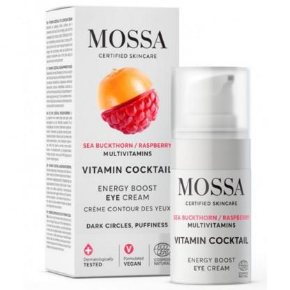 Crema anticearcan pentru ochi VITAMIN COCKTAIL ENERGY BOOST 15ml Mossa Organic