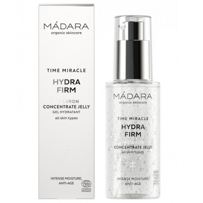 Gel concentrat cu acid hialuronic Hydra Firm Time Miracle 75ml Madara