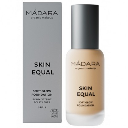 Fond de ten soft glow SPF15 - Skin Equal 20 Ivory 30ml Madara