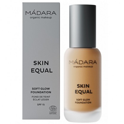 Fond de ten soft glow SPF15 - Skin Equal 50 Golden Sand 30ml Madara
