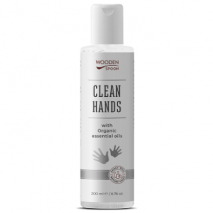 Igienizant natural Clean Hands 200ml Wooden Spoon