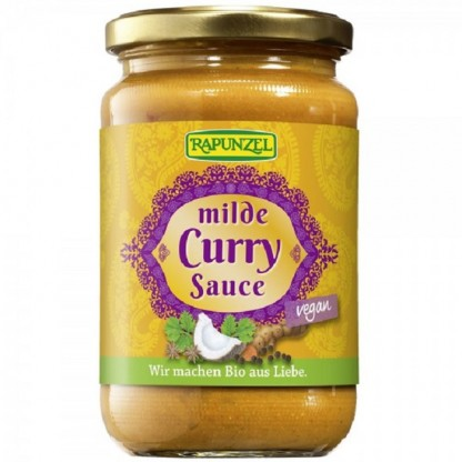Sos Curry fin Vegan BIO 340g Rapunzel