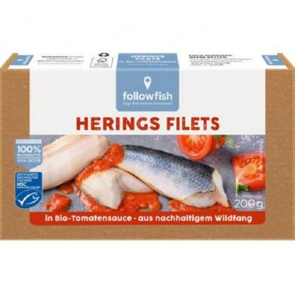 File de hering in sos de tomate 200g Followfish