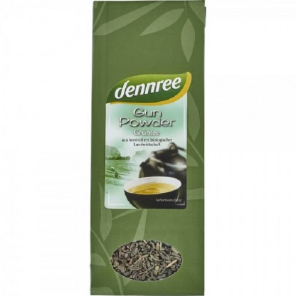 Ceai verde Gun Powder BIO 100g Dennree