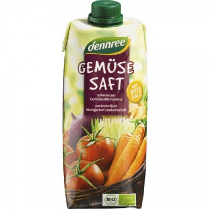 Suc de legume Vegan BIO 500 ml Dennree