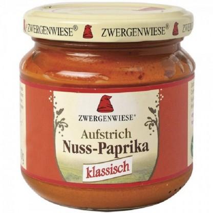 Crema tartinabila cu nuci si ardei, fara gluten, BIO 200g Zwergenwiese