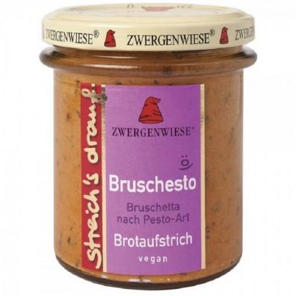 Crema tartinabila vegetala Bruschesto cu pesto fara gluten, BIO 160g Zwergenwiese