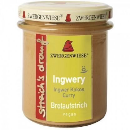 Crema tartinabila vegetala Ingwery cu ghimbir fara gluten, BIO 160g Zwergenwiese