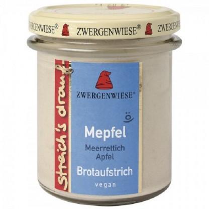Crema tartinabila vegetala Mepfel cu hrean si mar fara gluten, BIO 160g Zwergenwiese